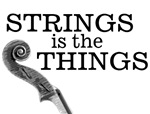Strings Is the Things T-shirts & Gifts