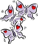 I love Butterflies T-shirts & Gifts