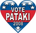 Vote George Pataki 2008 Political T-shirts & Gifts