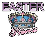 Easter Princess Crown Tee Shirts and Gifts