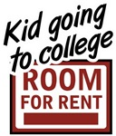 Room for Rent Kid in College T-shirts & Gifts