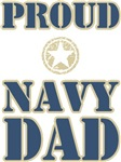 Proud Navy Dad Military T-shirts & Gifts