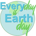 Every Day is Earth Day T-shirts Gifts