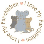 I Love My Rat Fur-Children T-shirts Gifts