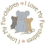I Love My Rat Fur-Children T-shirts Gifts