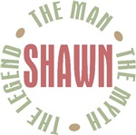 Shawn the Man the Myth the Legend T-shirts Gifts