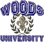 Woods Family Name University T-shirts Gifts
