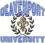 Deavenport Last Name University T-shirts Gifts