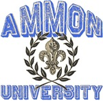 Ammon Family Name University T-shirts Gifts