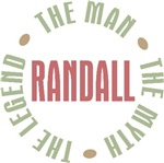 Randall the Man the Myth the Legend T-shirts Gifts
