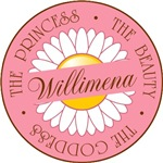 Willimena Princess Beauty Goddess T-shirt Gifts