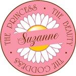 Suzanne Princess Beauty Goddess T-shirts Gifts