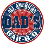 Dad's All American Barbeque T-shirts Gifts
