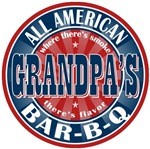 Grandpa's All American Bar-B-Q T-shirts Gifts