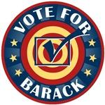 Vote for Barack Obama T-shirts Gifts