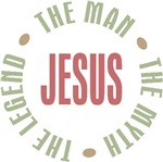 Jesus the Man the Myth the Legend T-shirts Gifts