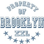 Property of Brooklyn Personalized T-shirts Gifts