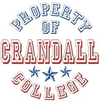 Crandall College Custom Property Of T-shirts Gifts