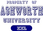 Property of Ashworth University Custom T-shirts Gi