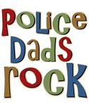 Police Dads Rock Law Enforcement T-shirts Gifts