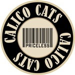 Calico Cats Priceless Bar Code T-shirts Gifts