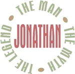 Jonathan the Man the Myth the Legend T-shirts Gift