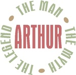 Arthur the man the myth the legend T-shirts Gifts