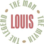 Louis the man the myth the legend T-shirts Gifts