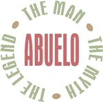 Abuelo the man the myth the legend T-shirts Gifts
