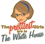 Prettiest Girl White House Palin T-shirts Gifts