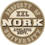 Nork Last Name Athletic Dept Tees Gifts