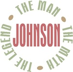 Johnson Man Myth Legend Tees Gifts