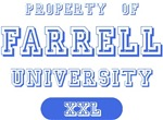 Property of Farrell Name University Tees Gifts