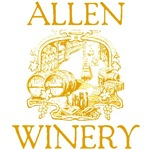Allen Vintage Family Name Winery Tees Gifts