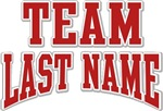 Any Team Name Personalized Custom Tees Gifts