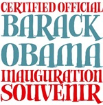Official Obama Inauguration Souvenir Tees Gifts