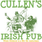 Cullen's Family Name Personalized Irish Pub Tees G