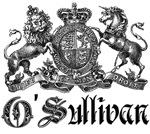 O'Sullivan Vintage Family Crest Tees Gifts
