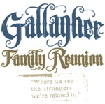 Gallagher Personalized Family Reunion Tees and Gif