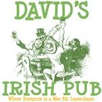 David's Vintage Irish Pub Tees Gifts