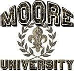 Moore Last Name University Tees Gifts
