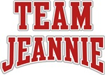 Team Jeannie Personalized Tshirts Gifts