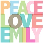 Peace Love Emily Tees Gifts