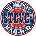 Steve Squared All American BBQ Tees Gifts