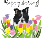 Happy Spring Dogs