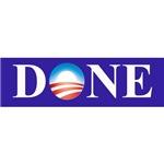 Barack Obama is done