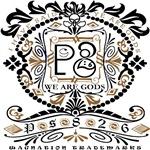 Women's Ps826 Ornate #2a black&brown