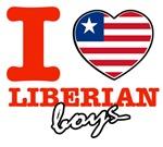 I love Liberian boys
