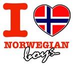 I love Norwegian boys