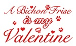 A Bichon Frise is my valentines